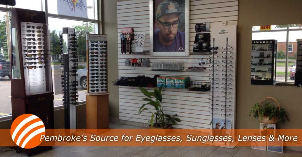 Pembroke's Source for Eyeglasses, Sunglasses, Lenses & More | displays